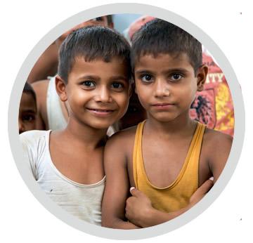 Fil rouge unicef caritatif humanitaire entreprise Smilou