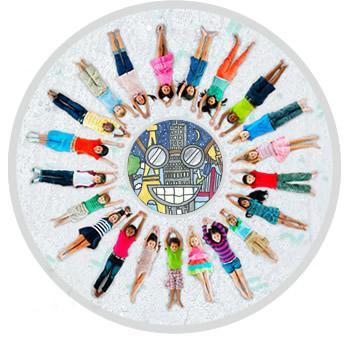 Concours de dessin gratuit Smilou Unicef aider enfants coloriage école